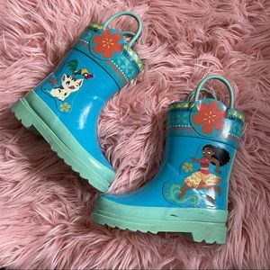 Moana Rainboots
